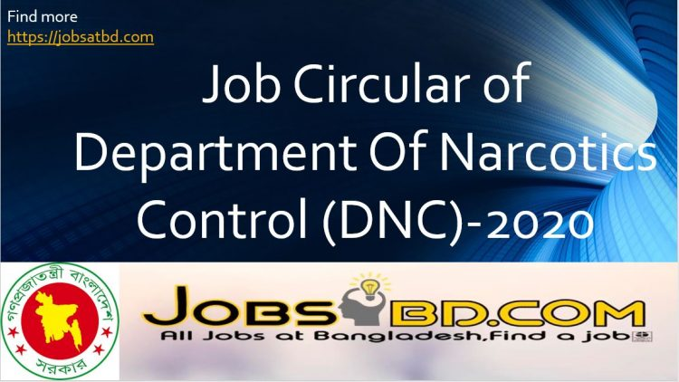 Department Of Narcotics Control