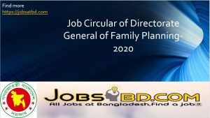 Directorate General of Family Planning